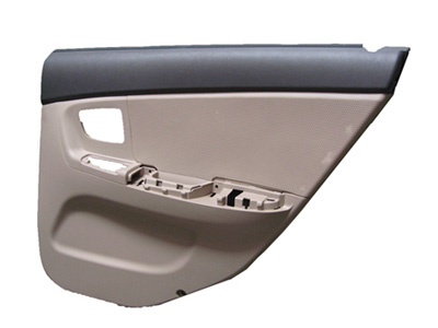 auto exterior decoration——rear door assembly